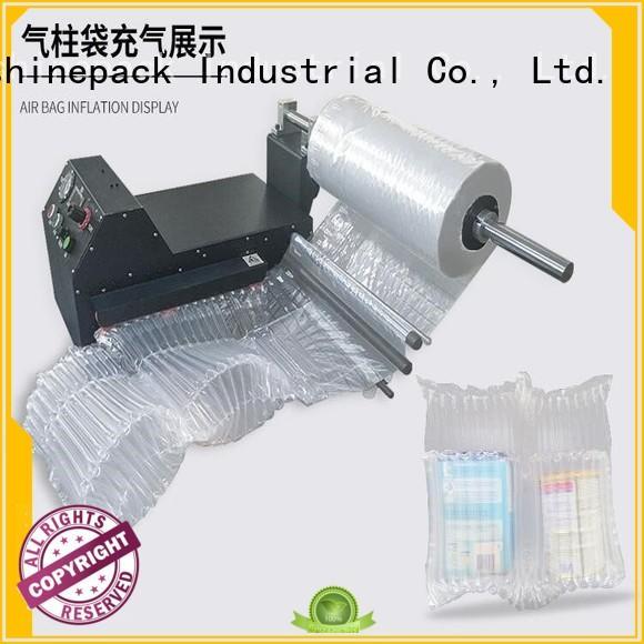 Higher quality inflate machine CLU-01,Multi-function Automatically inflate machine of AIR COLUMN ROLL,U/L STYLE AIR COLUMN BAG IN ROLL.Higher metal quality inflate machine