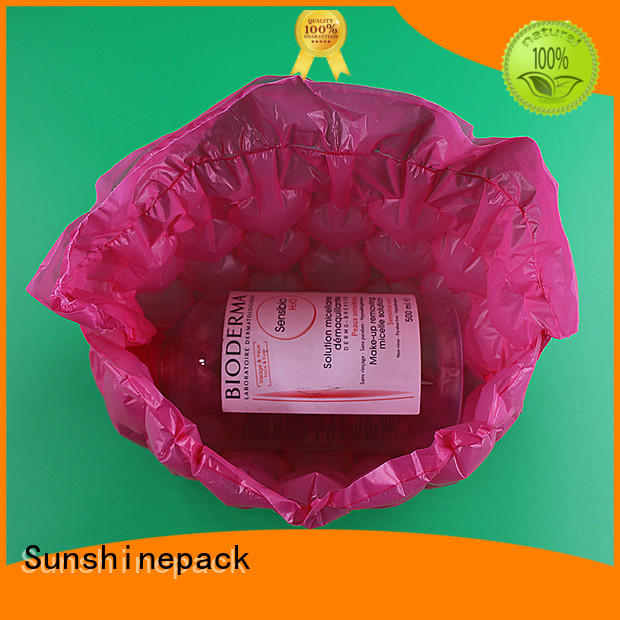 Sunshinepack recyclable shipping pillows shockproof for boots