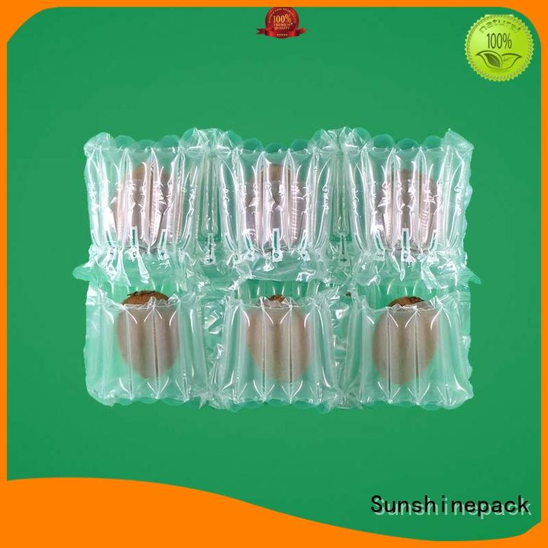 Sunshinepack free sample inflatable packaging air bags manufacturers for goods