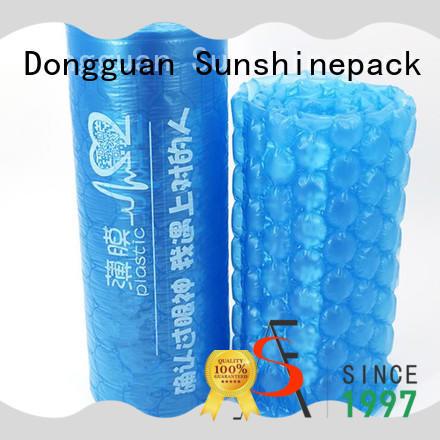 printing air pillow film logo pattern for transportation Sunshinepack