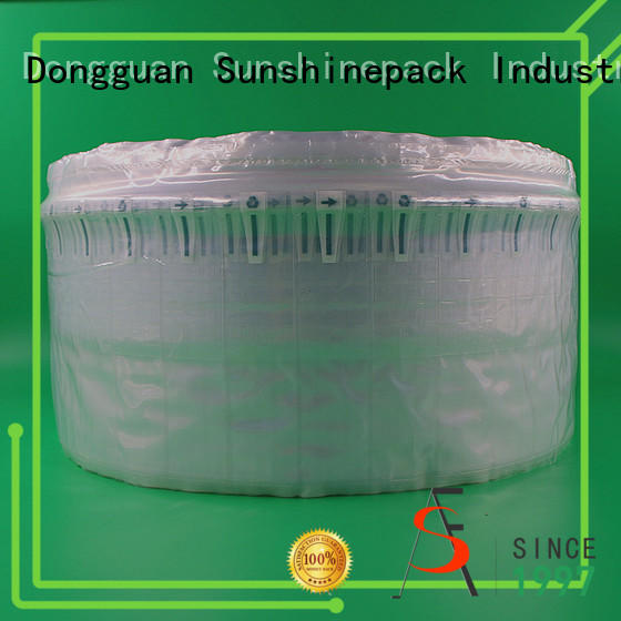 Sunshinepack products air cushion roll company for great column packaging