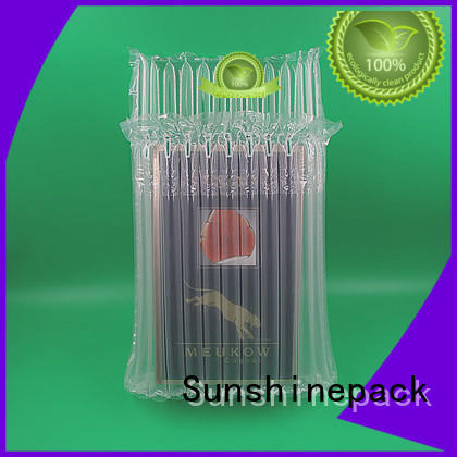 Sunshinepack free sample air bubble packaging machine for business for delivery