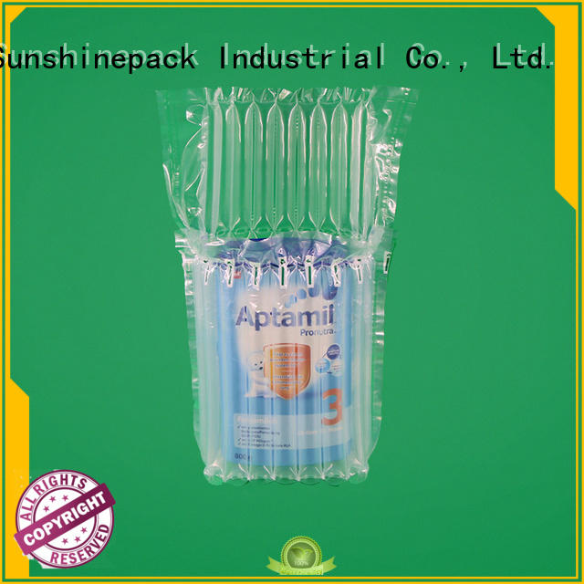 Sunshinepack Wholesale plastic air bags packaging company for package