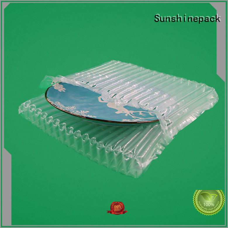 Great shock-proof dishes air cushion bag,best protection of porcelain bowl during shipment.Airbag Packing Manufacturer