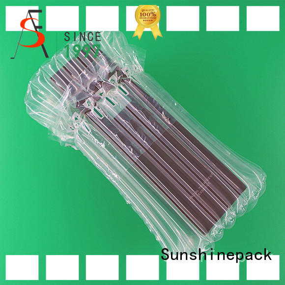 Cushioning Air Column Bag Packaging For Cosmetics, Best Pollution-free and Recyclable Cushioning Packaging Material