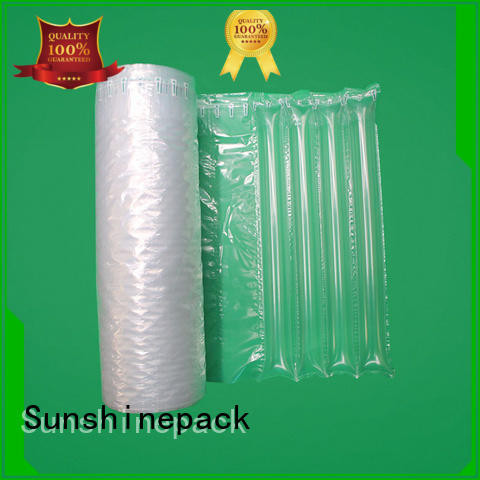 shockproof air column roll packing for delivery Sunshinepack