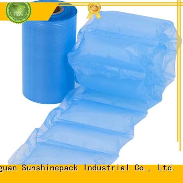 Sunshinepack roll packaging inflatable pillow india manufacturers for boots
