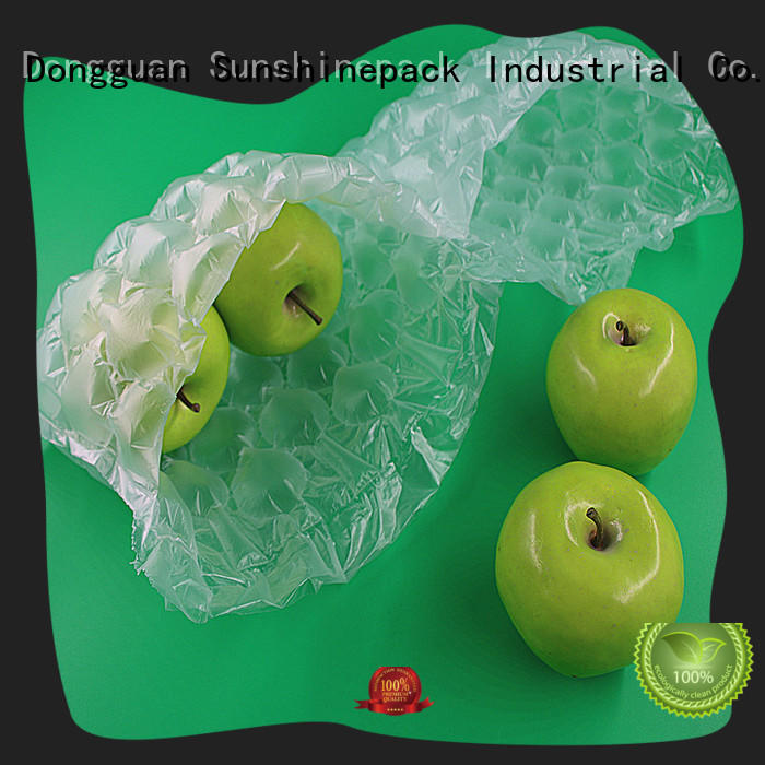 Sunshinepack roll packaging inflatable packaging air bags manufacturers for boots