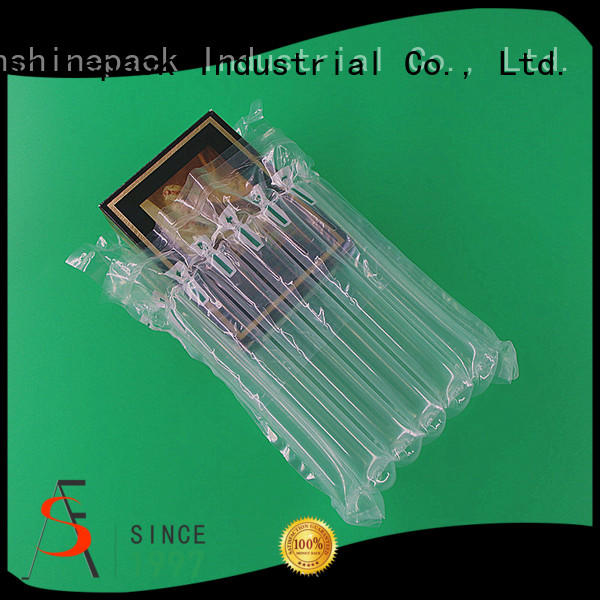 Sunshinepack free sample air filled plastic bags packaging company for transportation