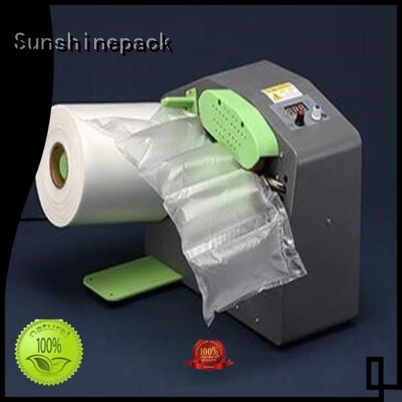 Sunshinepack latest inflate machine company for goods