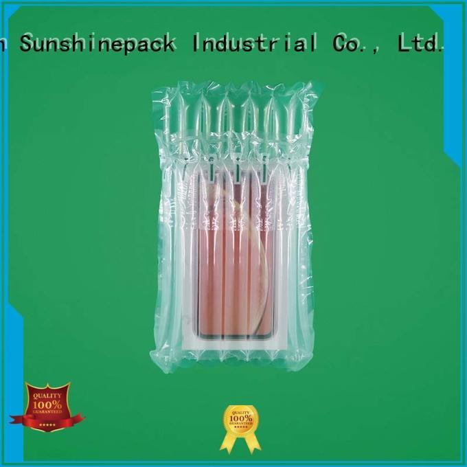 Sunshinepack Brand shipment led custom air pouch packaging
