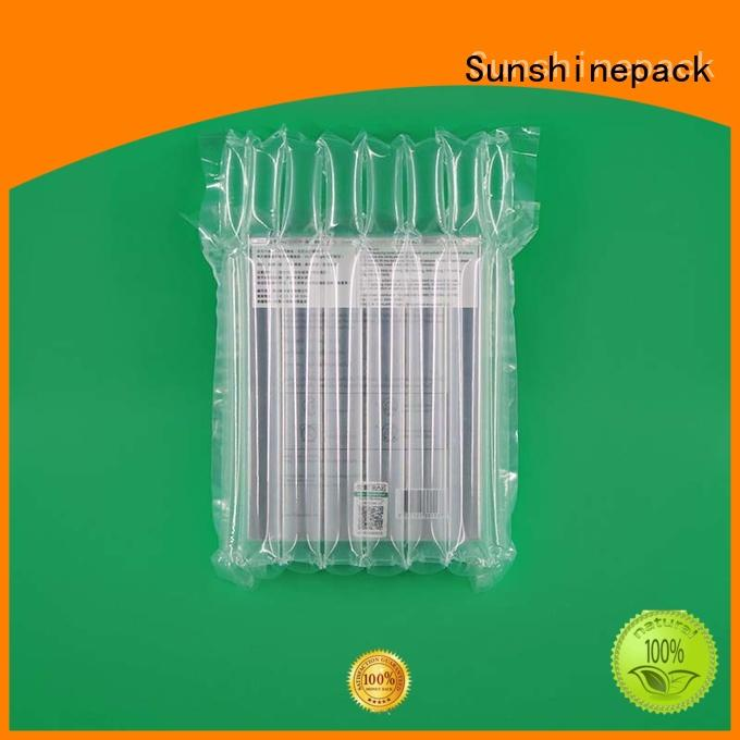 Sunshinepack Top air bubble packaging machine company for goods