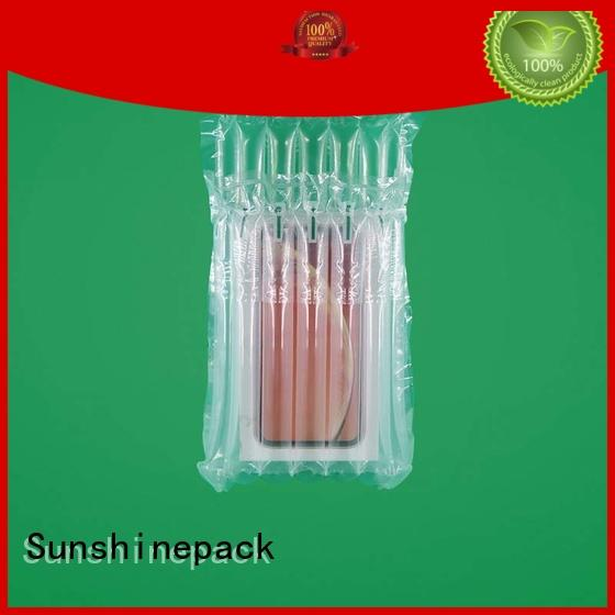 custom inflatable air cushion packaging for wholesale for package Sunshinepack