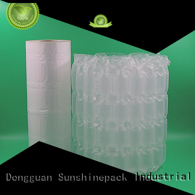 Sunshinepack printing plastic air bubble packaging Suppliers for transportation