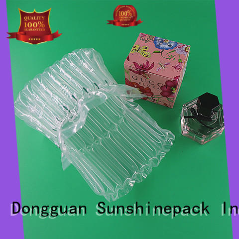 Sunshinepack Top air bubble packaging machine factory for package
