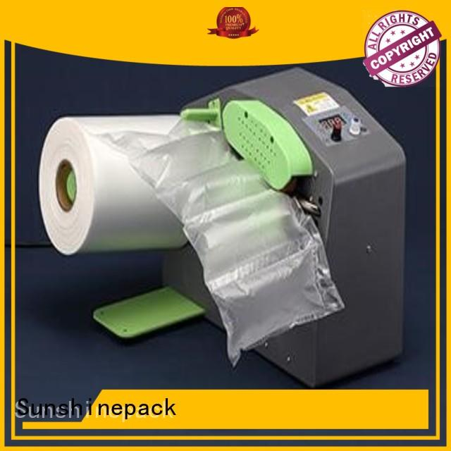 Sunshinepack latest inflate machine factory for airbag