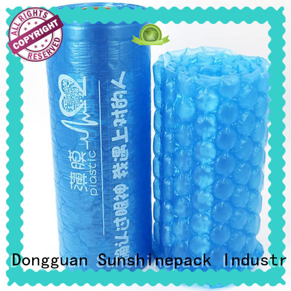 Sunshinepack roll packaging air bubble packaging machine Supply for logistics