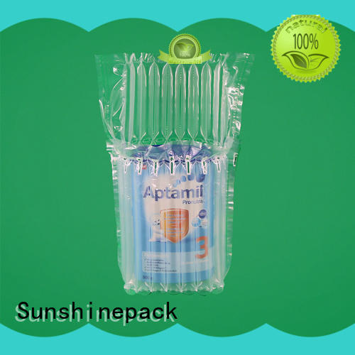 Sunshinepack top brand inflatable air cushion packaging manufacturers for packing