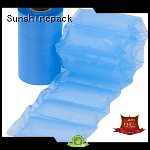 Sunshinepack most popular air cushion film bags for transportation