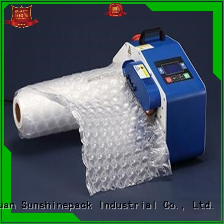 latest inflating machine factory price for package Sunshinepack