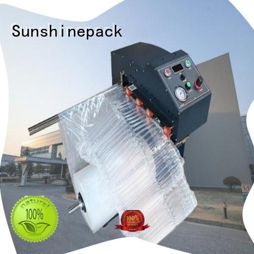 Sunshinepack best manufacturer inflate machine for airbag