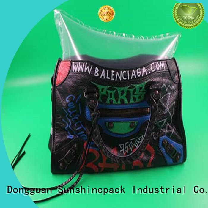 shockproof air cushion bag pollution free for wrap