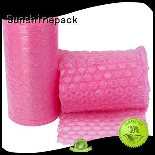 roll packaging air bubble film air pillow packing for logistics Sunshinepack