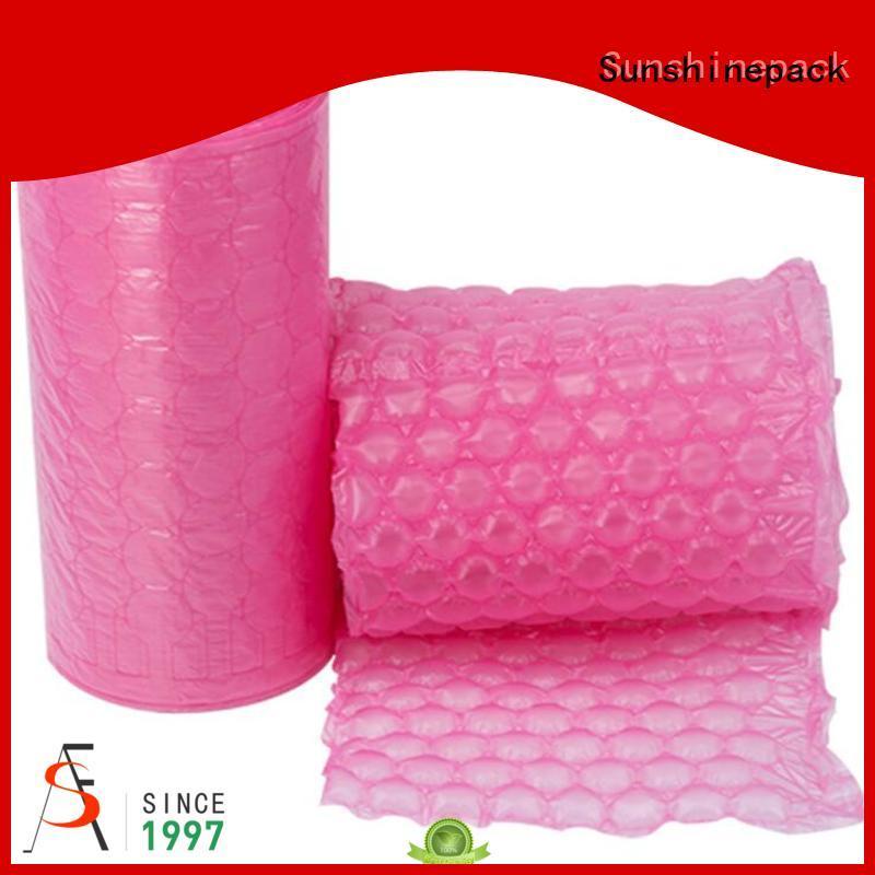 logo pattern bubble wrap bags printing for transportation Sunshinepack