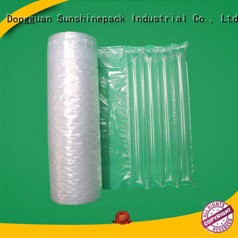 Sunshinepack material air cushion roll custom for shipping
